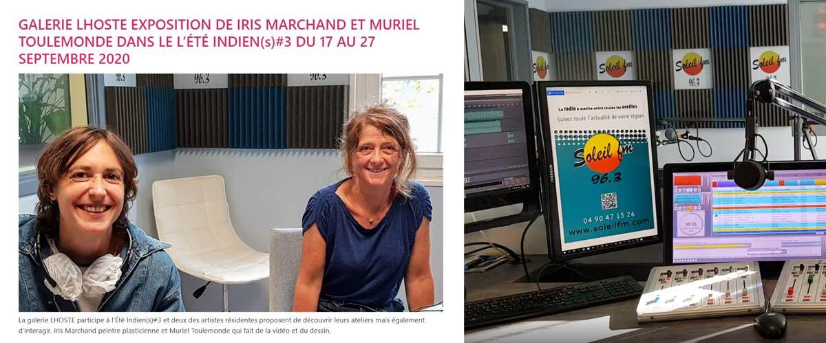 Soleil fm Iris Marchand et Muriel Toulemonde